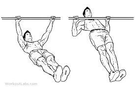 A man doing the inverted row